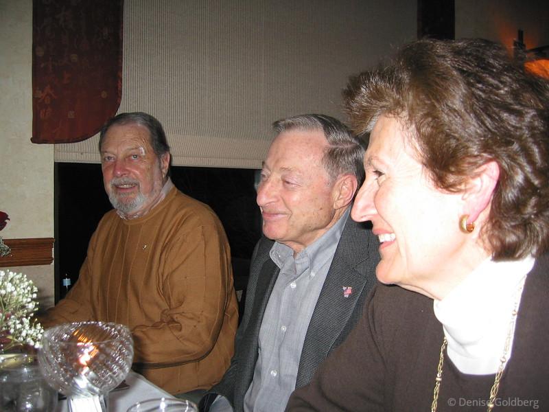Dad, Leon, and Elaine