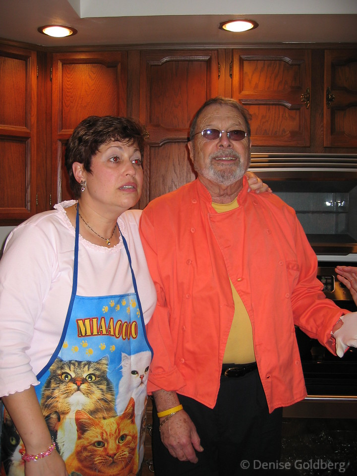 Suze and Dad, November 2004