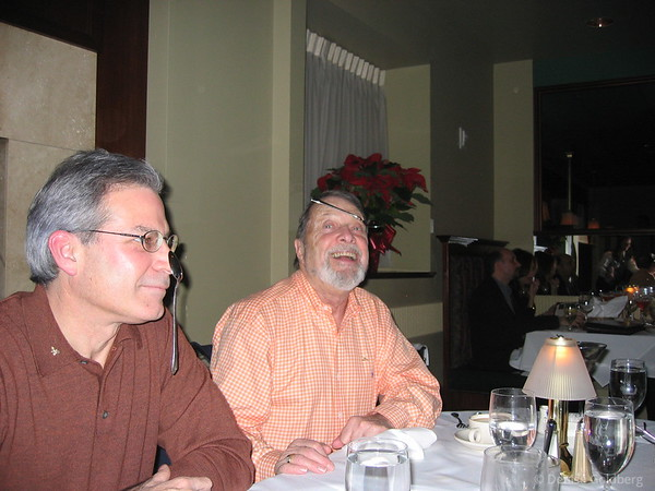 Neal and Dad, November 2005
