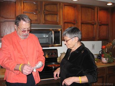 Dad and Mom, November 2004