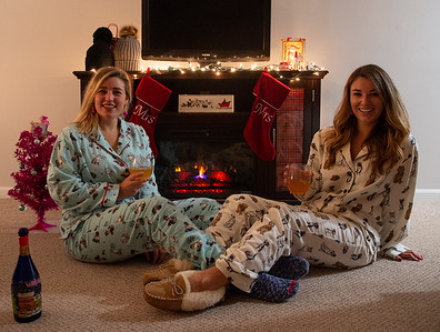 2018 Emma and Kenzie Christmas