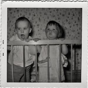 LYNN & JANIE AUGUST 1958