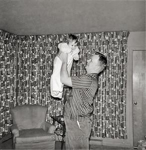 DAD & LYNN JANUARY 1958