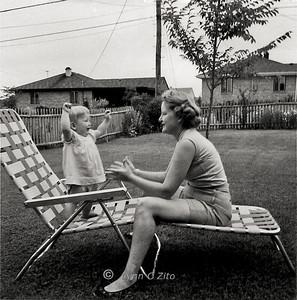 MOM & LYNN JULY 19.1958