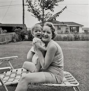 MOM & LYNN JULY 19, 1958
