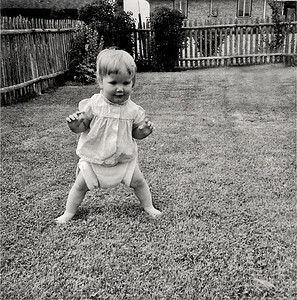 LYNN LEARNING TO WALK JULY 19, 1958