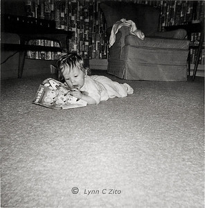 LYNN - A BOOKWORM IS BORN JANUARY 1958
