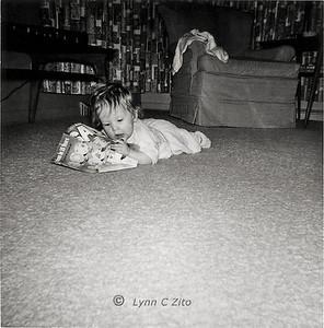 LYNN - A BOOKWORM IS BORN JANUARY 1958