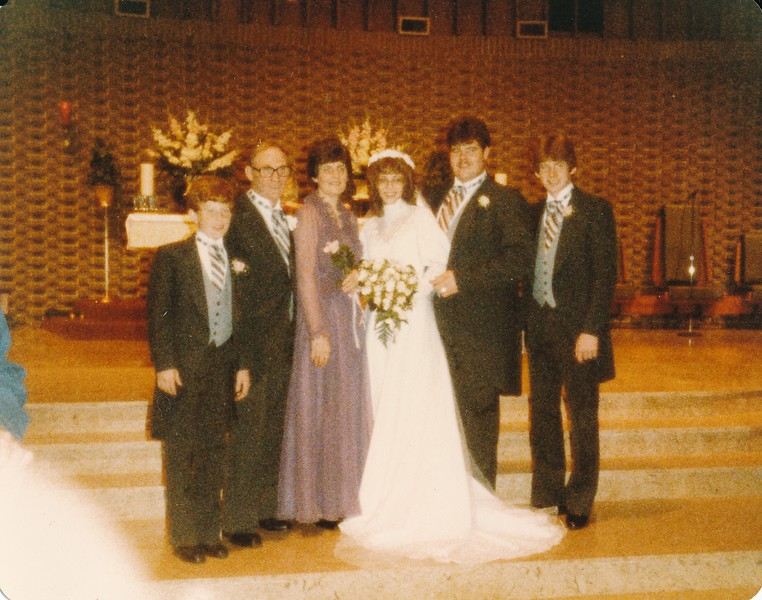 mary and Larry Wedding