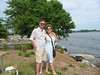 Stephen & Andrea at Lachine Canal