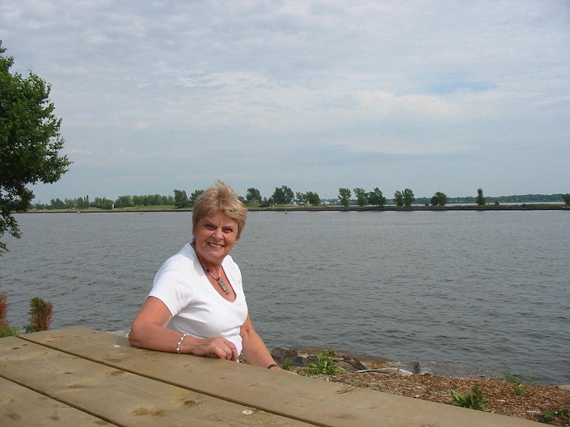 Pauline at Lachine Canal