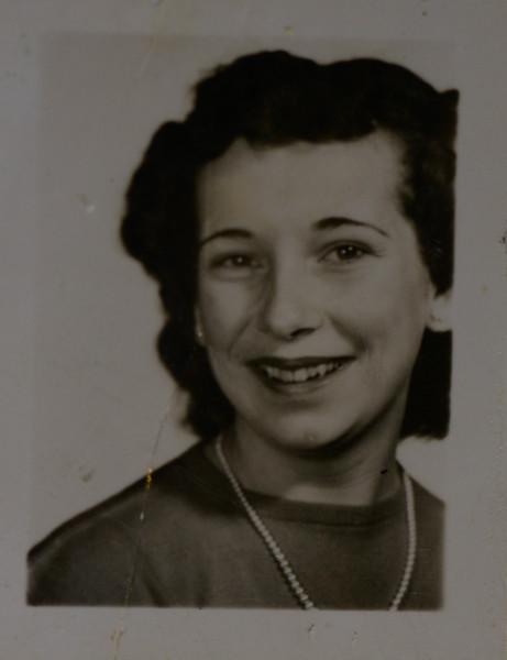 Joan Lillian Thurston, 1950