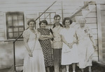 Gladys S Ballard (née Cabana) with daughter Claire Adwilda Ballard, and David Gene Thurston, Joan Lillian Thurston, and Eugenia CabanaGladys S Ballard (née Cabana) with daughter Claire Adwilda Ballard, and David Gene Thurston, Joan Lillian Thurston, and Eugenia Cabana