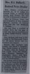 Gladys S Cabana death notice
