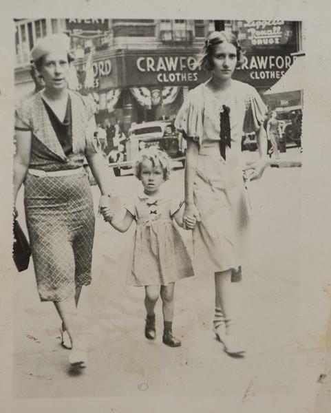Irene Mae Cabana, Joan Lillian Thurston, and  Marie Irene Brachett