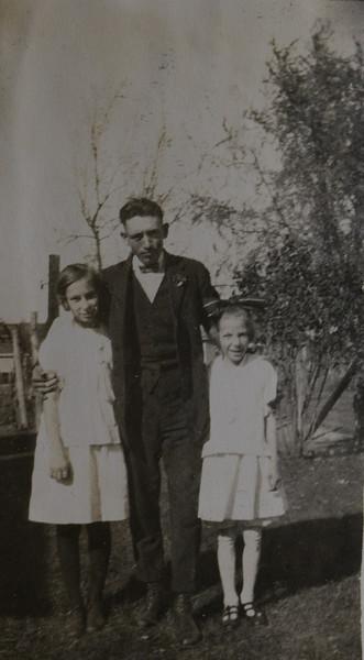 Frederick T, Irene Mae and Gladys S Cabana