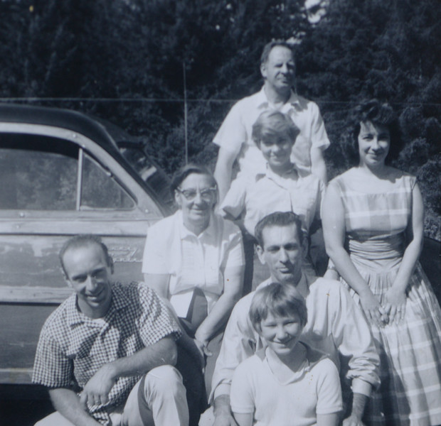 Frederick T. Cabana, Mary Martindale Reeve, Joan Lillian Thurston, Eugenia Cabana, Gilbert Frederick Thurston, David Gene Thurston, Edith Marie Reeve