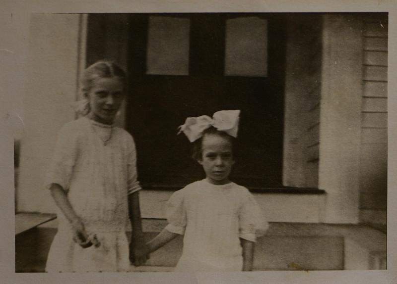 Hedwidge Florance Cabana and Irene Mae Cabana