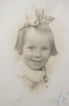 Joan Thurston, 3 years old