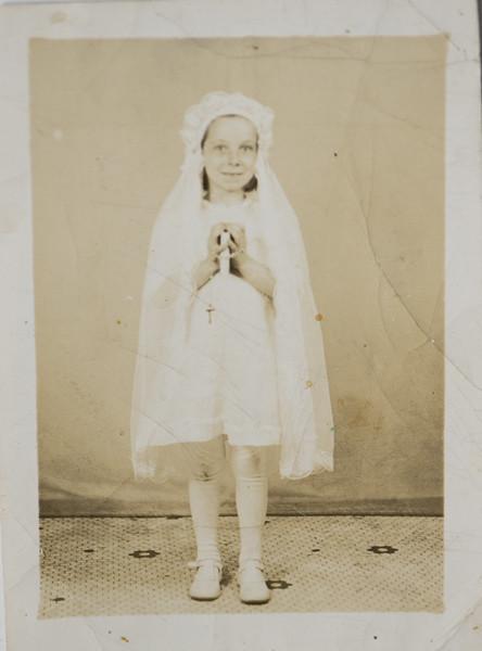 Joan Lillian Thurston at 7 Years Old