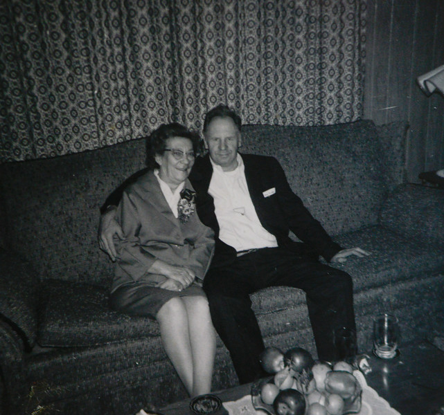 Irene Mae Reeve (née Thurston, née Cabana) and Russel Reeve