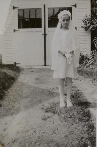 Joan Thurston, 13 years old, 1947
