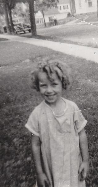 Joan Thurston, 4 years old