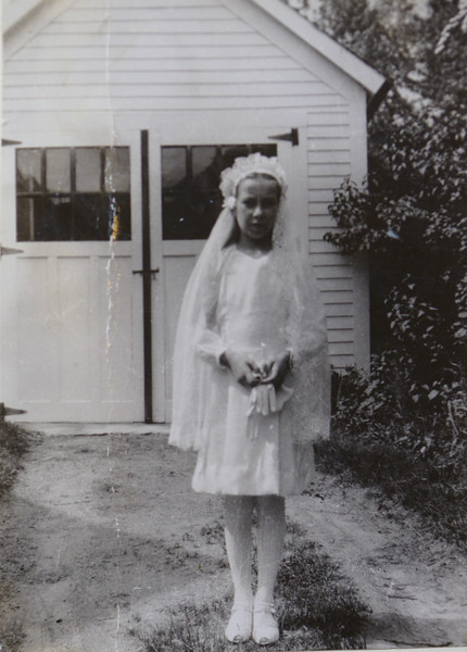 Joan Thurston, 13 years old, 1947