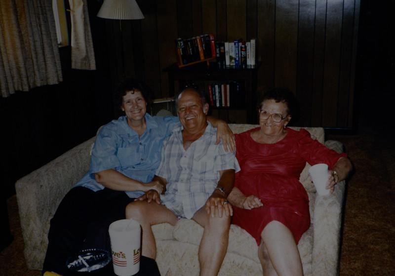 Sylvia Genevieve, Odell Henderson, Flora Mae Huff, 1987