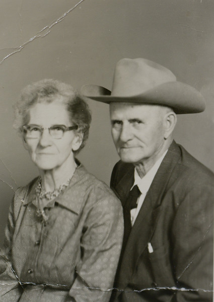 Calvin Henderson Huff and Linnie Lee Huff (née Smith), 1959