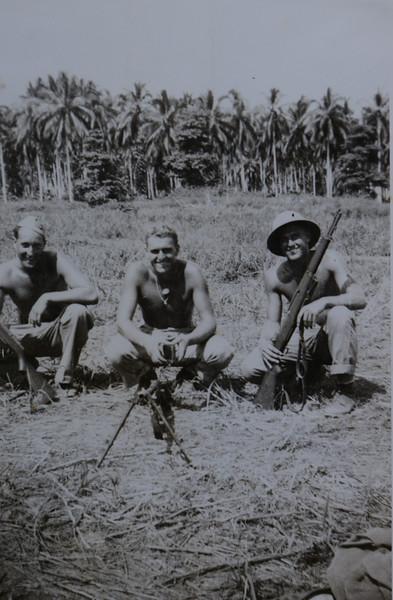 Kelsie Thomas Huff during WWII