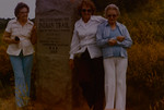 Flora Mae, Thelma Gertrude, and Lydia Matilda Huff, 1987