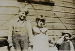 Kelsie Thomas Huff, Evelyn Elva Huff, Alice Geneva Huff, and Odell Henderson Huff