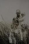 Calvin Henderson Huff holding Sylvia Genevieve with Odell Henderson Huff and Alice Geneva Huff