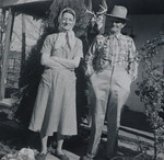 Calvin Henderson Huff and Linnie Lee Huff (née Smith), May 1958