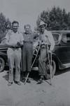 Albert Cain Huff, Jr, Linnie Lee Huff (née Smith) and Lora Albert Huff