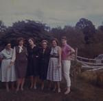 Evelyn Elva, Thelma Gertrude, Flora Mae, Lydia Matilda, Ina Artisa, Sylvia Genevieve Huff