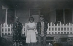 Linnie Lee Huff (nêe Smith), Sylvia Genevieve Huff and Odell Henderson Huff