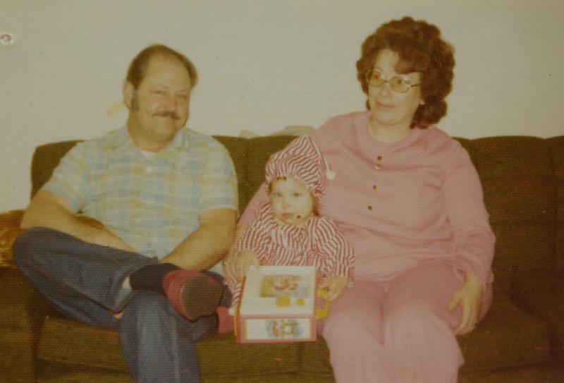 Odell Henderson, Kelsie Odell, and Joan Lillian Huff