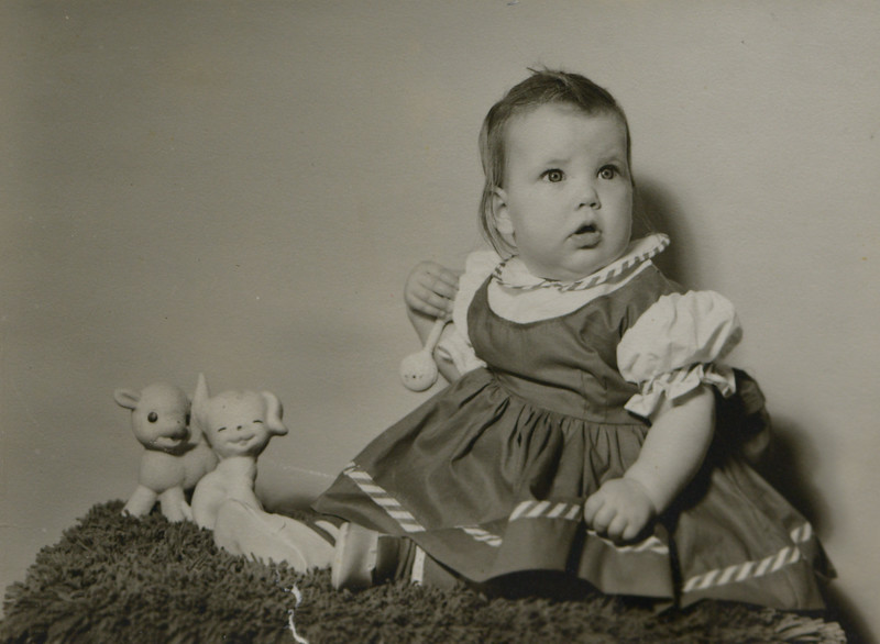 Patricia JoAnn Huff, age 7.5 months