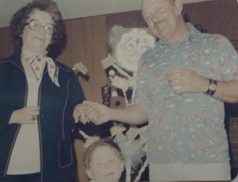 Joan Lillian, Odell Henderson, and Kelsie Odell Huff