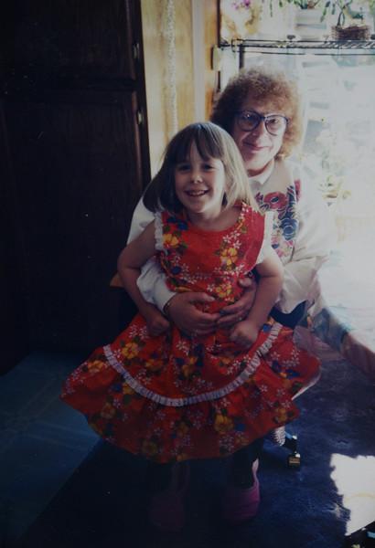 Joan Lillian Huff with Brenna Elise Huff