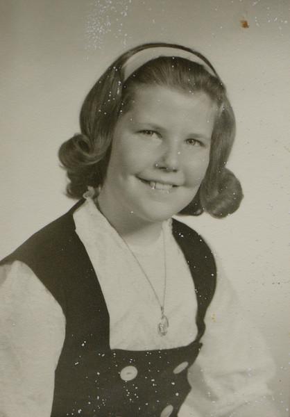 Patricia JoAnn Huff age 9.5