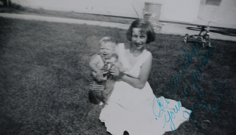 Joan Lillian Huff with Bill Odell Huff