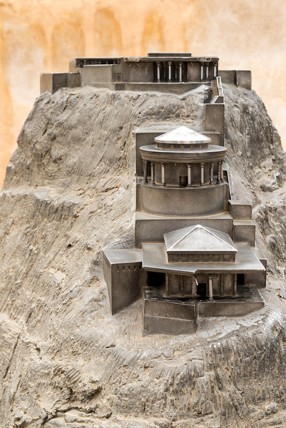 A model of what Herod built.