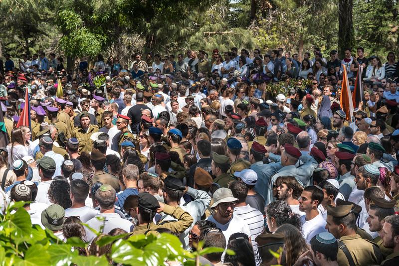 Memorial Day for Fallen Soldiers<br /> Mount Herzl Cemetery<br /> Jerusalem