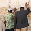 Praying at the Western Wall<br /> Jerusalem