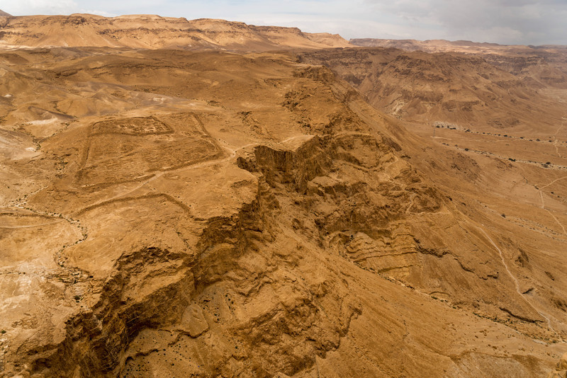 Masada. This place was isolated, dude.