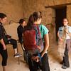 Rachel explains Masada.