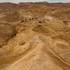 This is where the Romans built a ramp to climb up to the well-fortified plateau of Masada.